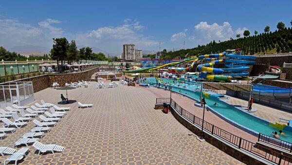 Аквапарк Душанбе, архивное фото - Sputnik Тоҷикистон