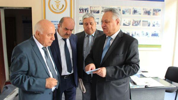 Пресс-конференция по итогам деятельности Таджикистан за 1-ю половину 2017 года - Sputnik Таджикистан