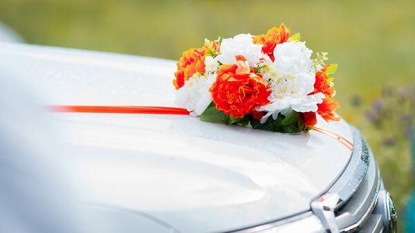 Свадебный автомобиль, архивное фото - Sputnik Тоҷикистон