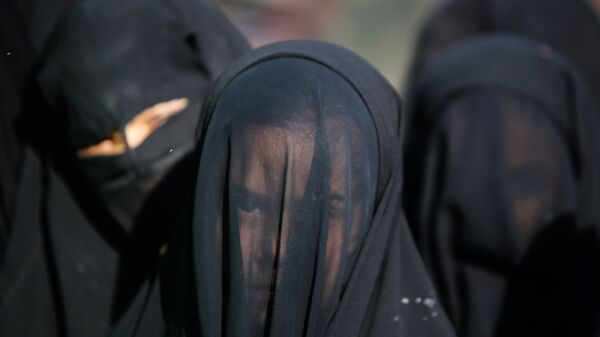 Мусульманки, архивное фото - Sputnik Таджикистан