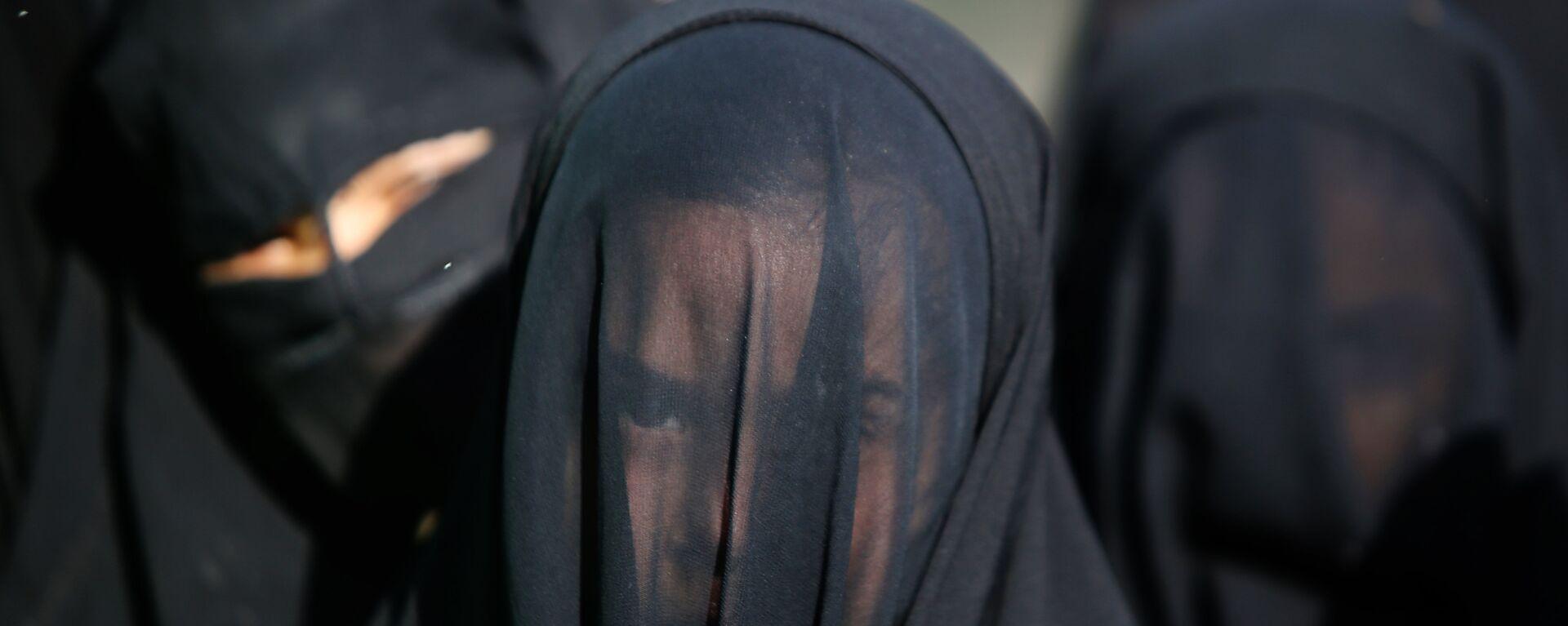 Мусульманки, архивное фото - Sputnik Таджикистан, 1920, 01.10.2021