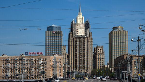 Здание МИД РФ, архивное фото - Sputnik Таджикистан