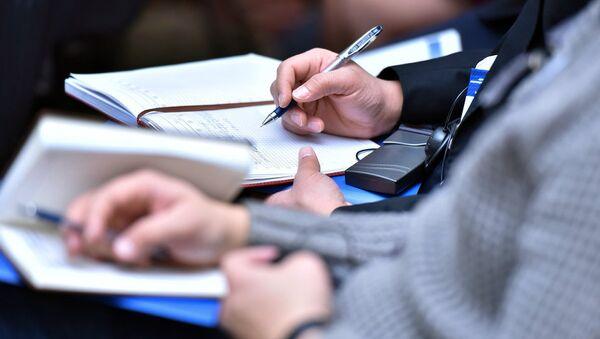 Бумага и ручка, архивное - Sputnik Таджикистан
