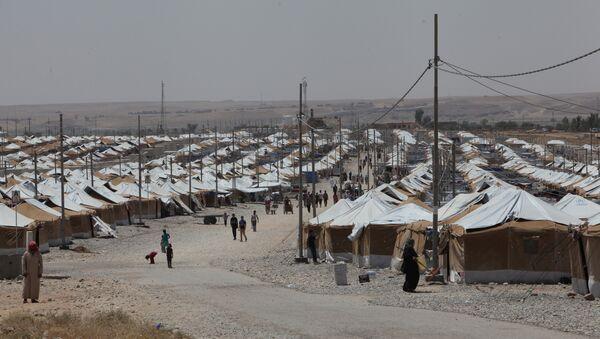 Лагерь беженцев в Мосуле, архивное фото - Sputnik Таджикистан