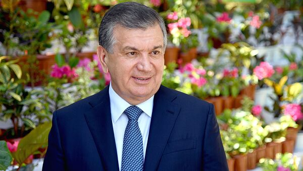 Президент Узбекистана Шавкат Мирзиёев, архивное фото - Sputnik Таджикистан