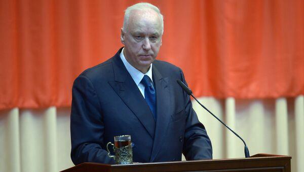 Председатель следственного комитета РФ (СК) Александр Бастрыкин, архивное фото - Sputnik Тоҷикистон