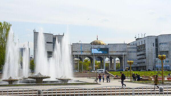 Фонтаны в Бишкеке, архивное фото - Sputnik Тоҷикистон
