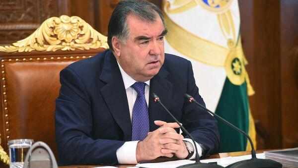 Эмомали Рахмон, архивное фото - Sputnik Таджикистан