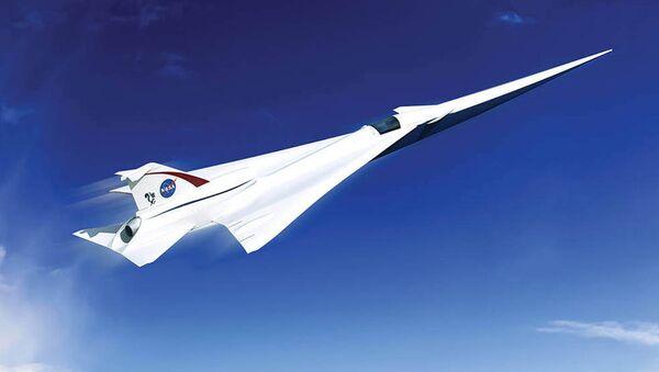 Сверхзвуковой пассажирский самолет, архивное фото - Sputnik Таджикистан