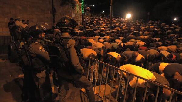 Тысячи мусульман отказались подниматься на Храмовую гору - Sputnik Тоҷикистон