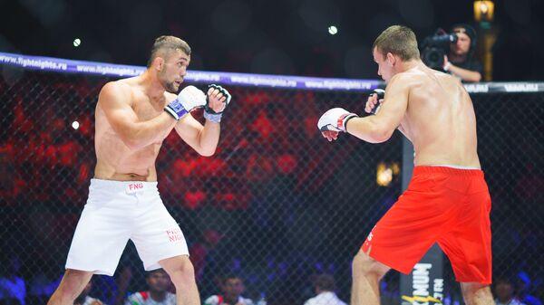 Боец Фаридун Одилов на Fight Nights Global Global 71, архивное фото  - Sputnik Таджикистан
