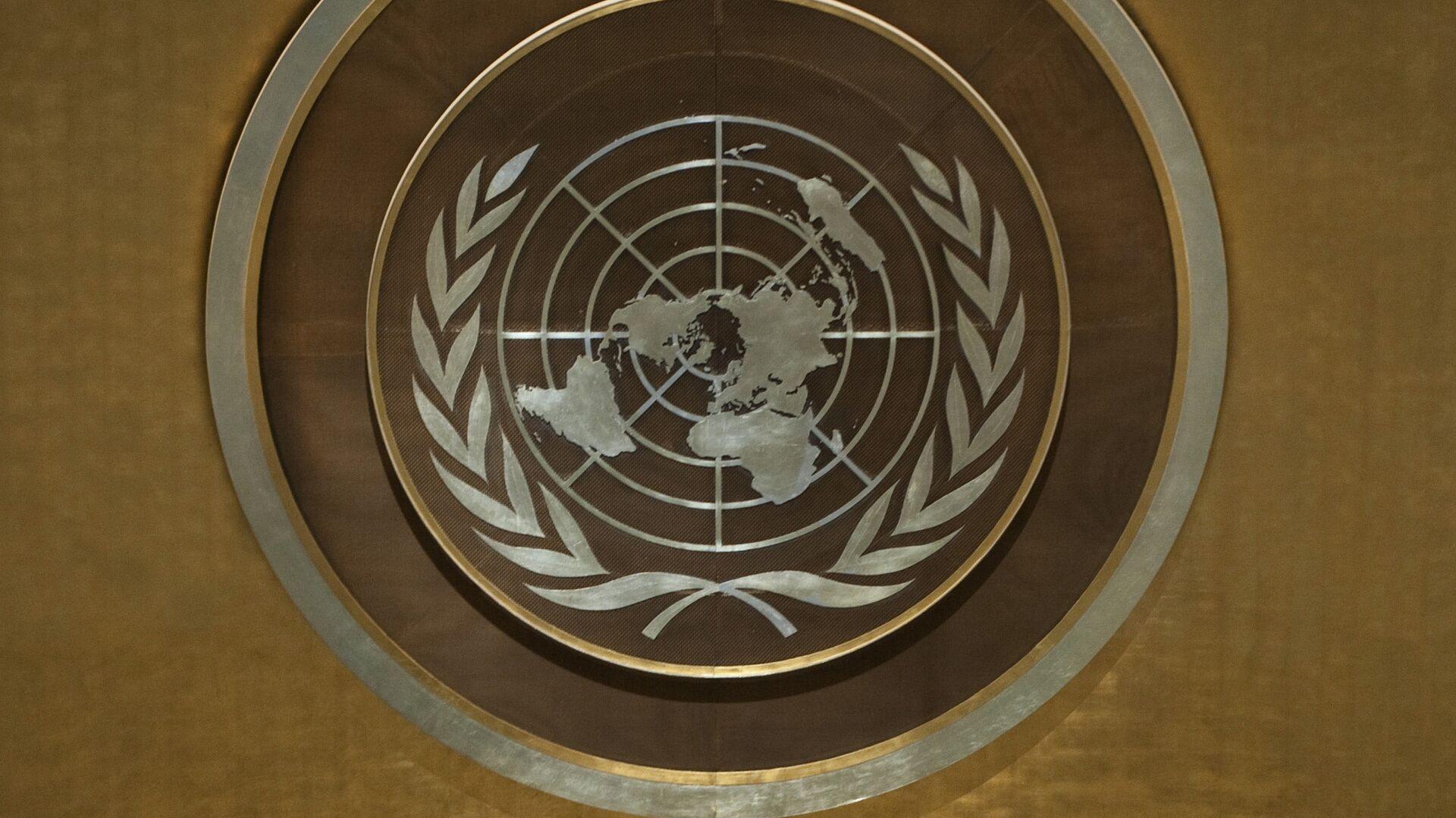Эмблема ООН, архивное фото - Sputnik Таджикистан, 1920, 30.07.2021