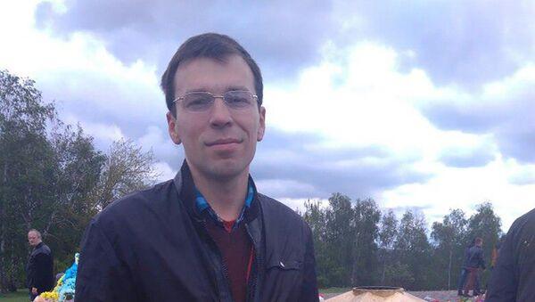 Блогер-журналист Василий Муравицкий, архивное фото - Sputnik Таджикистан