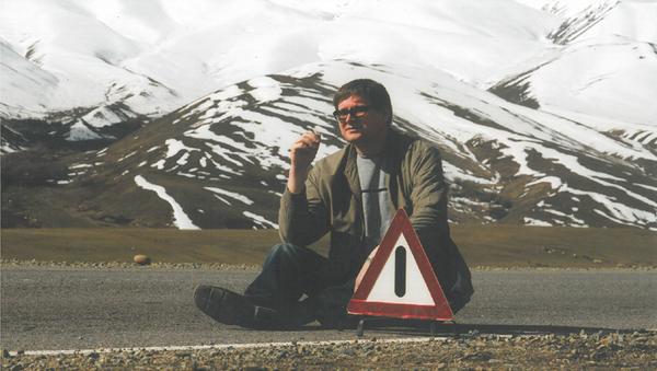 Журналист Александр Связин, архивное фото - Sputnik Таджикистан