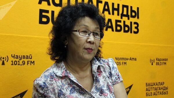 Турсун Мамырбаева - Sputnik Таджикистан