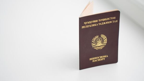 Обложка паспорта РТ, архивное фото  - Sputnik Таджикистан