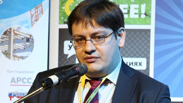 Максим Худалов, директор одного из направлений Аналитического рейтингового кредитного агентства, архивное фото - Sputnik Таджикистан