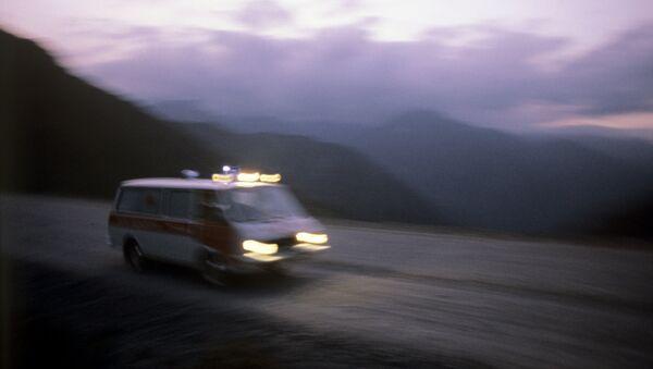 Машина скорой помощи в Кыргызстане, архивное фото - Sputnik Таджикистан