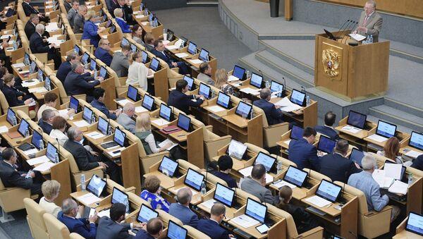 Заседание ЛДПР, архивное фото - Sputnik Таджикистан