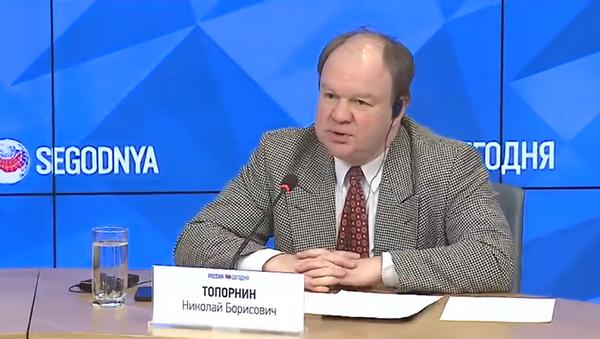 Николай Топорнин - Sputnik Таджикистан
