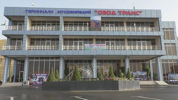 Открытия транспортного терминала - Sputnik Тоҷикистон