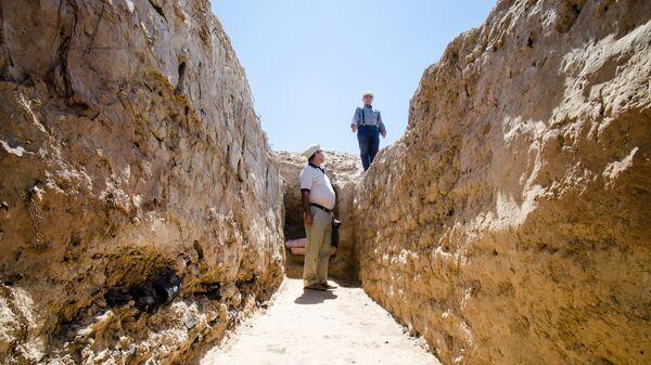 Археологические раскопки, архивное фото - Sputnik Таджикистан
