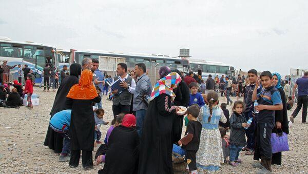 Ситуация в Мосуле, архивное фото - Sputnik Таджикистан