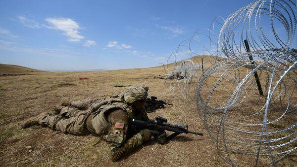 Американские военные, архивное фото - Sputnik Таджикистан