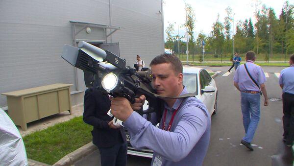 Концерн Калашников на форуме Армия-2017 продемонстрировал противодронное ружье REX-1 - Sputnik Таджикистан