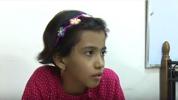 Таджикская девочка Марьям, найденная в Ираке - Sputnik Тоҷикистон