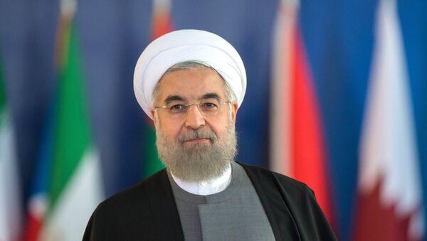 Президент Исламской Республики Иран Хасан Роухани, архивное фото - Sputnik Тоҷикистон