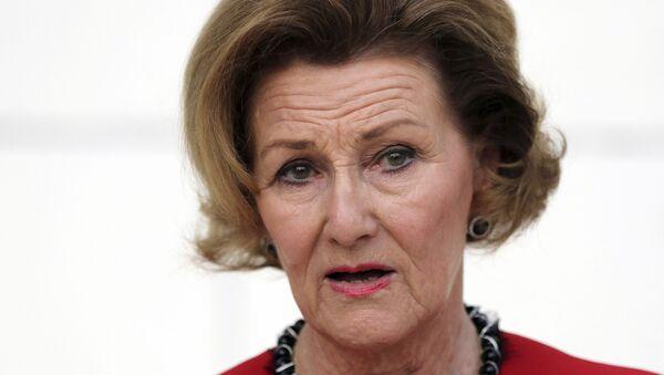 Королева Норвегии Соня - Sputnik Таджикистан