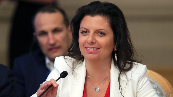 Главный редактор телеканала RT и МИА Россия сегодня Маргарита Симоньян - Sputnik Таджикистан