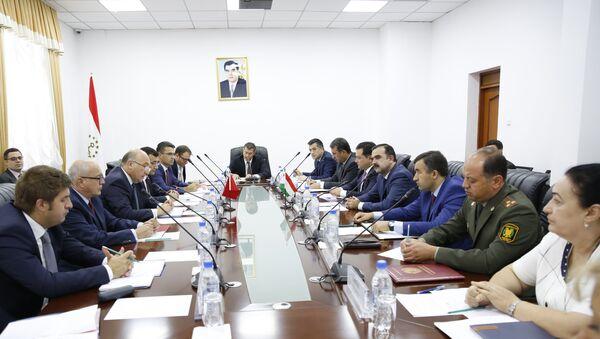 Встреча представителей МИД Таджикистана с Турцией - Sputnik Тоҷикистон