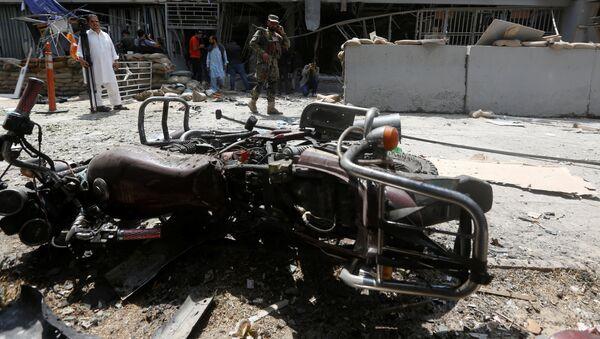 Взрыв в Кабуле - Sputnik Тоҷикистон