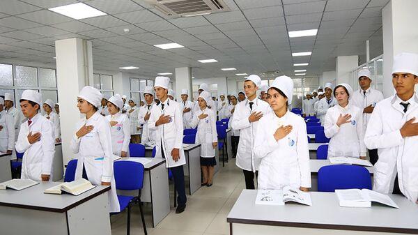 Студенты нового мед университета Таджикистана - Sputnik Тоҷикистон