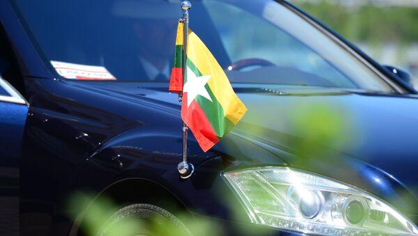 Флаг Мьянмы, архивное фото - Sputnik Тоҷикистон