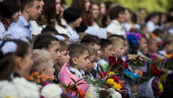 Начало учебного года в школах России - Sputnik Таджикистан
