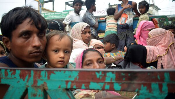 Беженцы из Рохингья, архивное фото - Sputnik Таджикистан