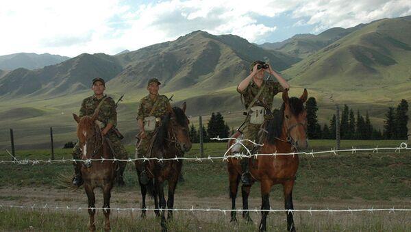 Пограничники на службе - Sputnik Таджикистан