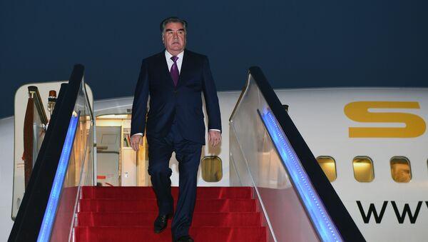 Президент Таджикистана Эмомали Рахмон, архивное фото - Sputnik Тоҷикистон
