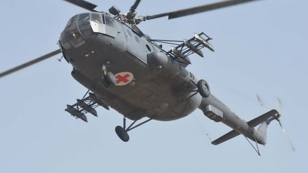Вертолет Ми-8 - Sputnik Таджикистан
