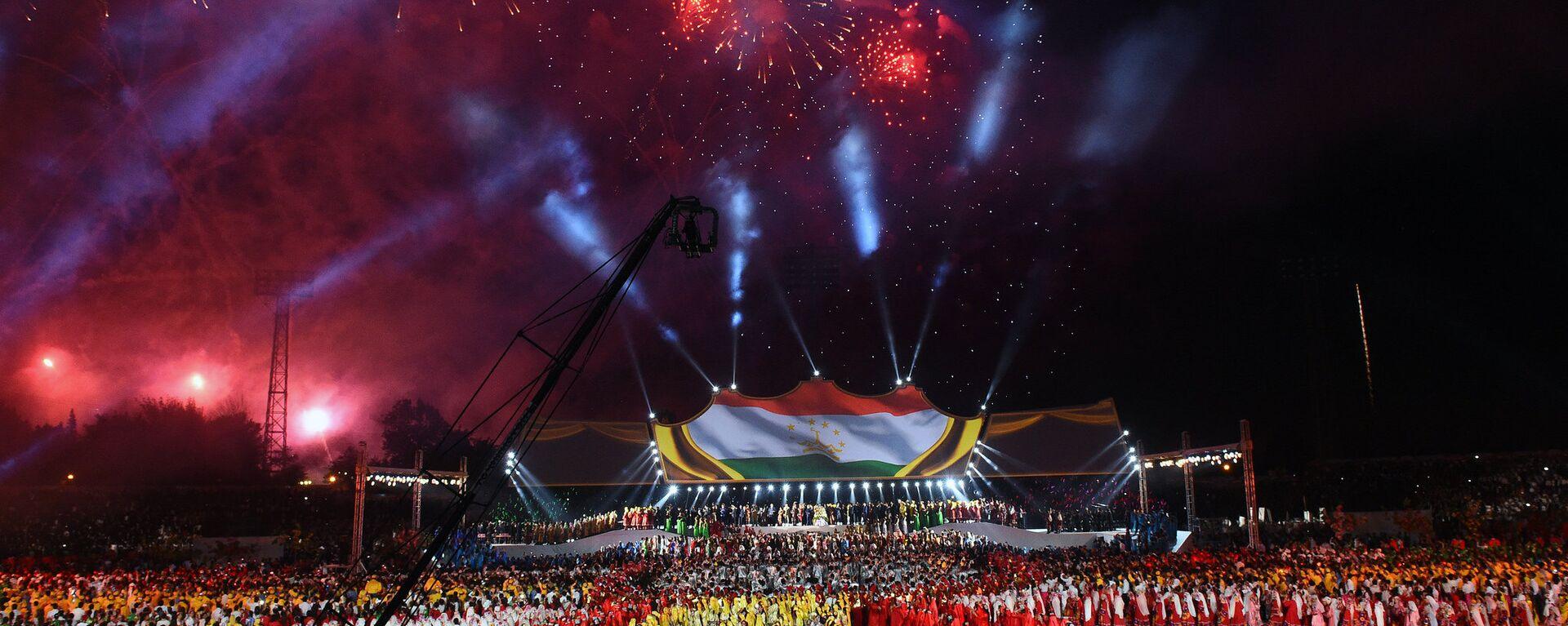 Празднование дня независимости Таджикистана в Душанбе - Sputnik Тоҷикистон, 1920, 19.07.2021