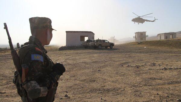 Военные учения в Кыргызстане, архивное фото - Sputnik Таджикистан