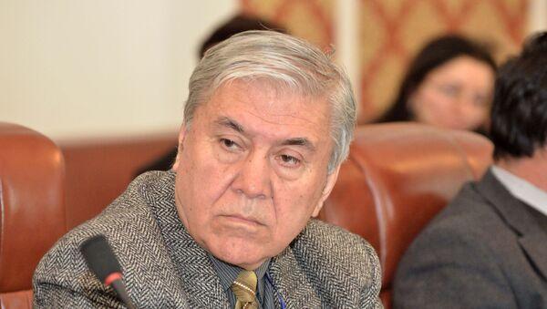 Ходжамахмад Умаров, эксперт Института экономики и демографии АН РТ - Sputnik Таджикистан