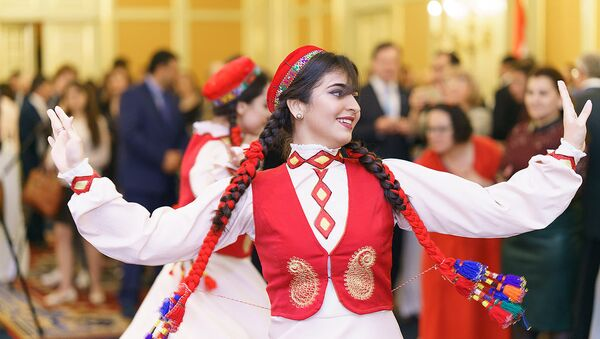 Посольство Таджикистана в Москве дало прием в честь Дня независимости - Sputnik Тоҷикистон
