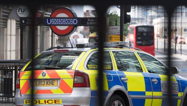Ситуация на месте теракта в Лондоне, архивное фото - Sputnik Тоҷикистон