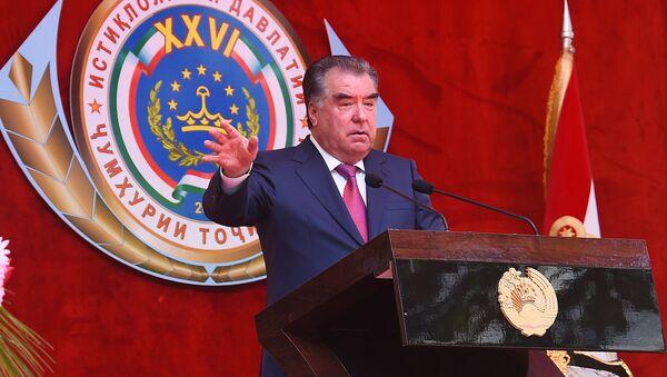 Президент Республики Таджикистан Эмомали Рахмон в Дарвазе - Sputnik Тоҷикистон