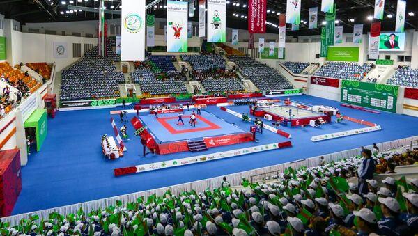 В Туркменистане получают первые золотые медали на 5 Азиатских играх 2017 - Sputnik Тоҷикистон