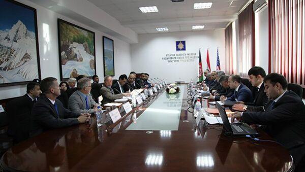 Встреча Директора АКН с делегацией Афганистана - Sputnik Тоҷикистон
